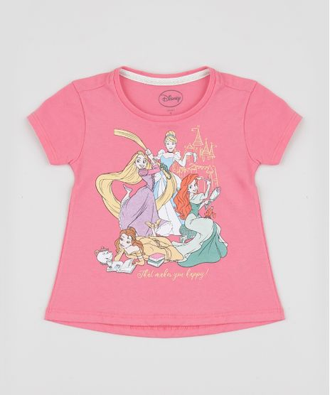 Blusa-Infantil-Princesas-Manga-Curta-Rosa-9949023-Rosa_1