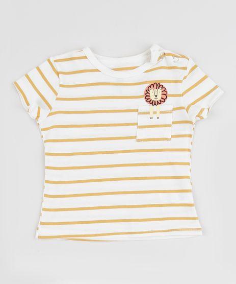 Camiseta-Infantil-Listrada-com-Bolso-Manga-Curta-Branca-9671097-Branco_1