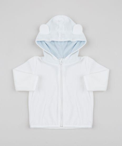 Blusao-Infantil-em-plush-com-Capuz-e-Botoes-Branco-9851385-Branco_1