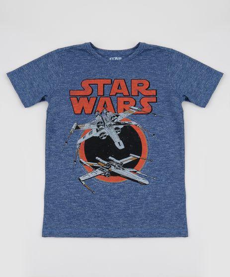 Camiseta-Juvenil-Star-Wars-Manga-Curta-Azul-9943197-Azul_1