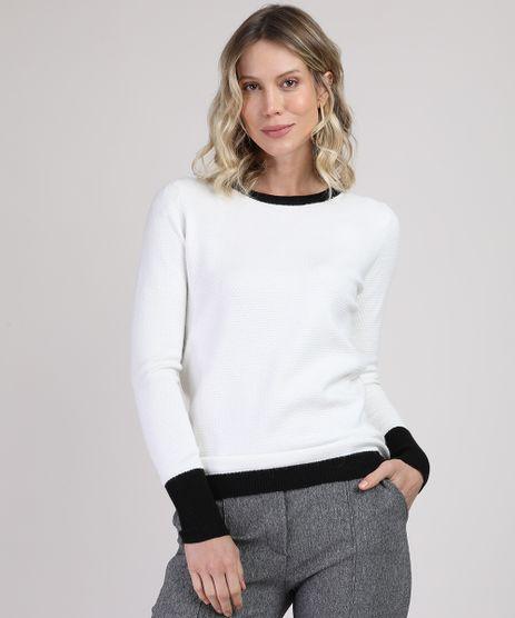 Sueter-Feminino-Basico-em-trico-Decote-Redondo-Preto-9809424-Preto_1