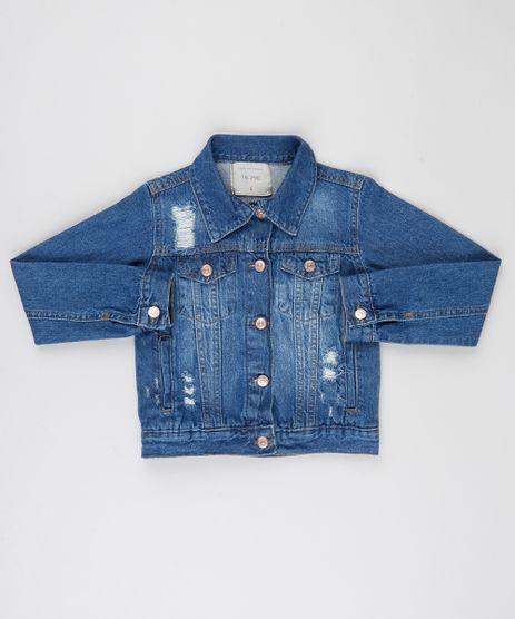 Jaqueta-Jeans-Infantil-Destroyed-com-Bolsos-Azul-Medio-9944354-Azul_Medio_1