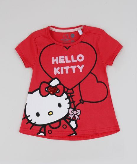 Blusa-Infantil-Hello-Kitty-Manga-Curta-Vermelha-9949029-Vermelho_1
