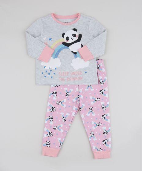 Pijama-Infantil-Panda-Arco-Iris-Manga-Longa-Rosa-9942764-Rosa_1