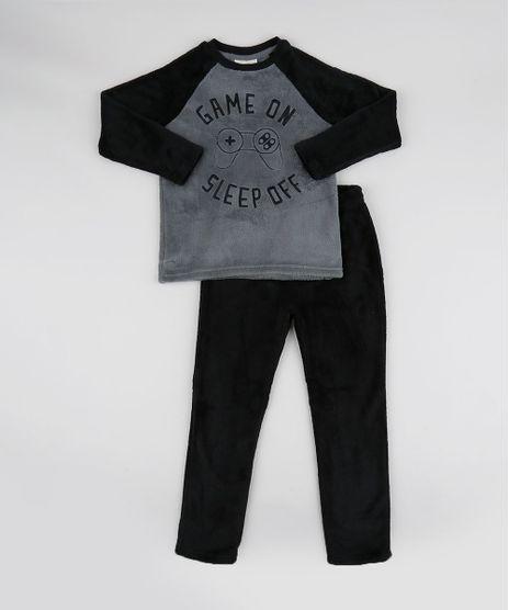 Pijama-de-Fleece-Game-Manga-Longa-Preto-9769044-Preto_1