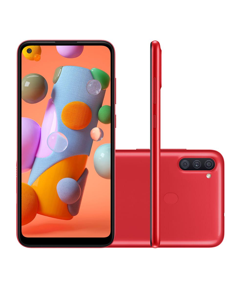 SMARTPHONE SAMSUNG SM-A115M GALAXY A11 64GB Vermelho