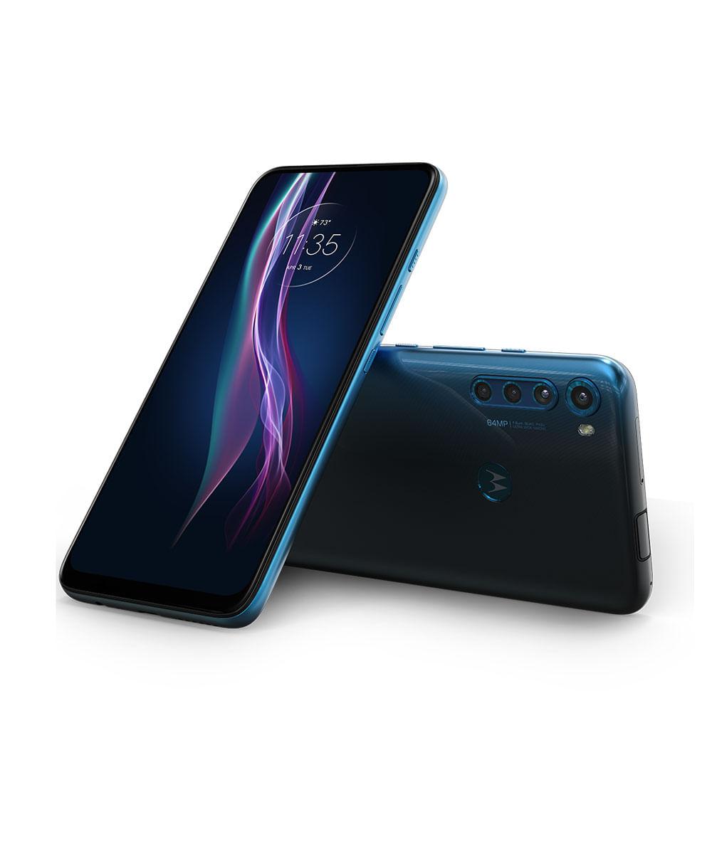 Smartphone Motorola XT2067-2 Moto One Fusion Plus 128GB Azul Indigo