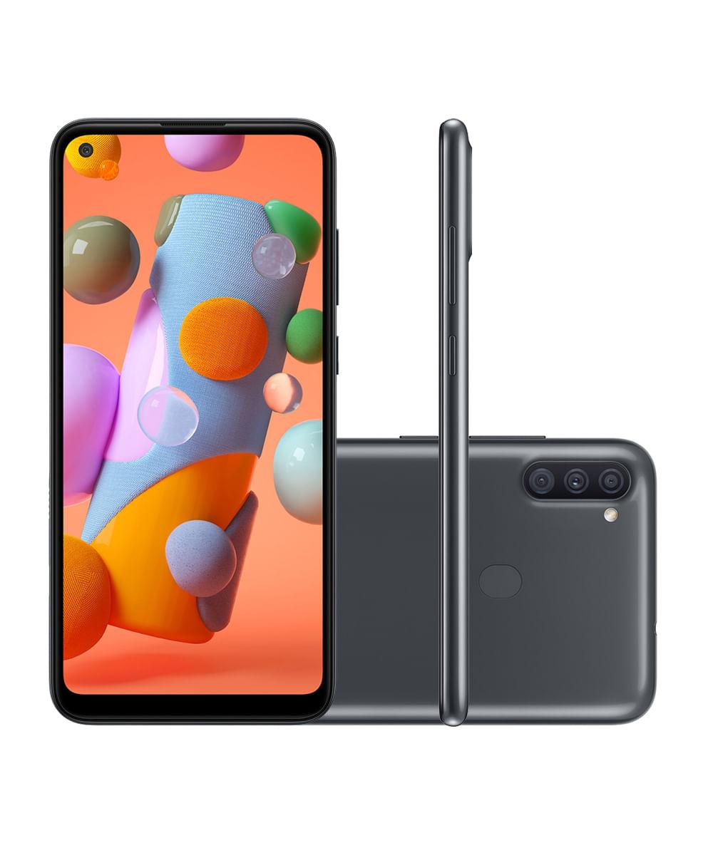 SMARTPHONE SAMSUNG SM-A115M GALAXY A11 64GB Preto
