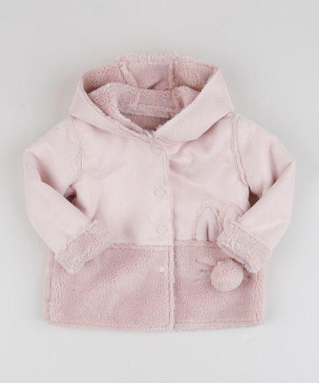 Colete-Infantil-em-Pelo-com-Bolsos-Rosa-Claro-9810483-Rosa_Claro_1