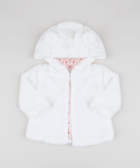 Jaqueta-Infantil-de-Pelo-com-Capuz-e-Orelhinhas-Off-White-9811161-Off_White_1