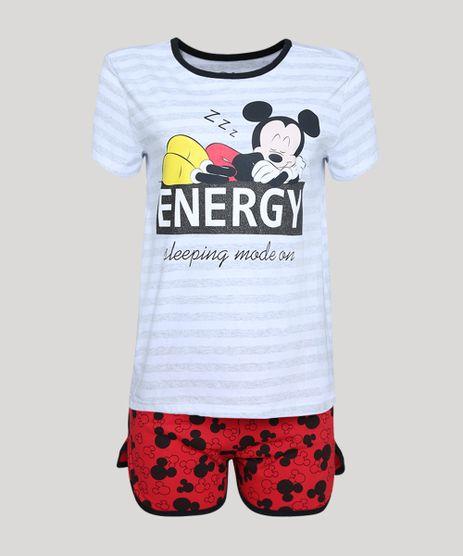 Short-Doll-Feminino-Mickey-Manga-Curta--Cinza-Mescla-9949295-Cinza_Mescla_1