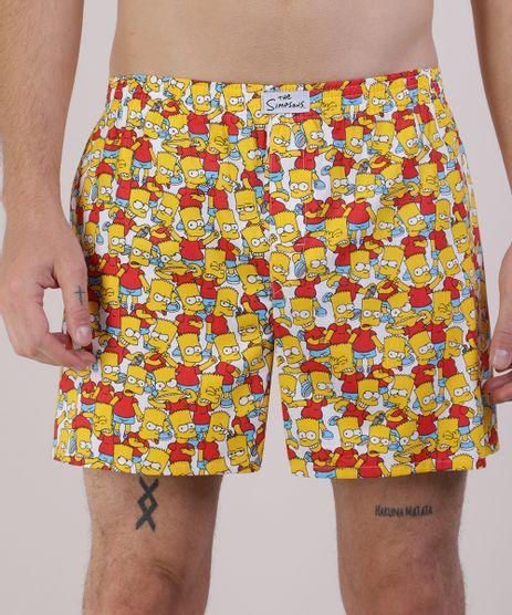 Samba-Cancao-Masculina-Os-Simpsons-Vermelha-9944829-Vermelho_1