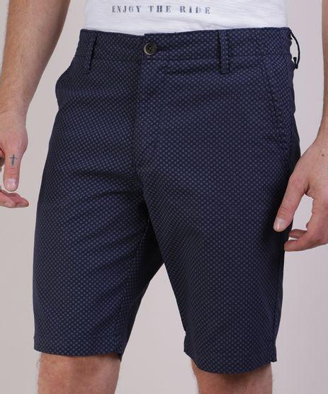 Bermuda-Masculina-Reta-Estampada-Mini-Print--Azul-Marinho-9948035-Azul_Marinho_1