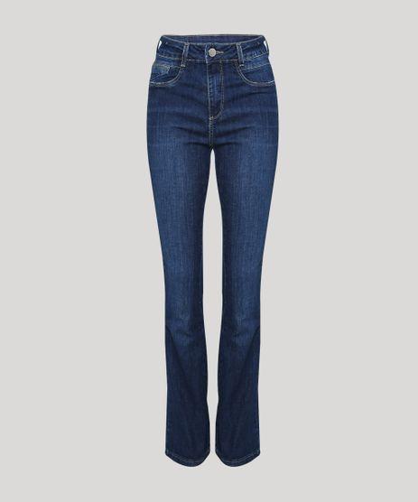 Calca-Jeans-Feminina-Flare-Cintura-Altacom-Bolsos-Azul-Escuro-9952544-Azul_Escuro_1