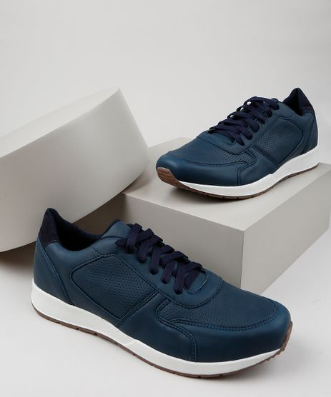 Tenis-Masculino-Oneself-com-Recortes-Azul-Escuro-9952078-Azul_Escuro_1