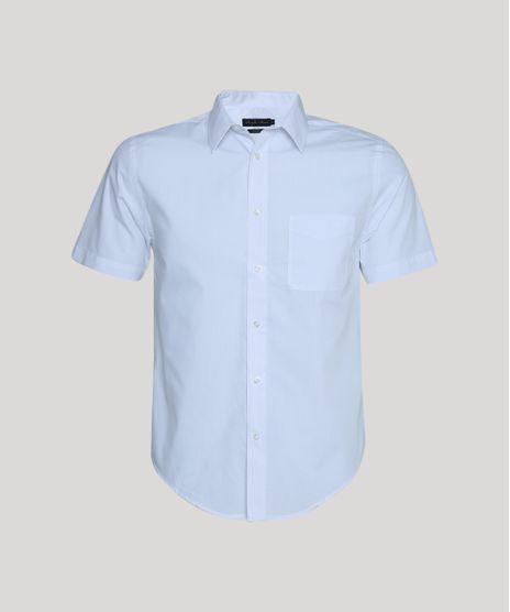 Camisa-Masculina-Comfort-com-Bolso-Manga-Curta-Branco-7602490-Branco_1