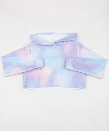 Blusao-de-Moletom-Juvenil-Cropped-Estampado-Tie-Dye-com-Capuz-Lilas-9954968-Lilas_1