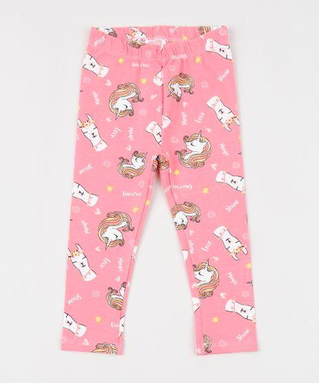 Calca-Legging-Infantil-Estampada-de-Unicornios-Rosa-9955215-Rosa_1