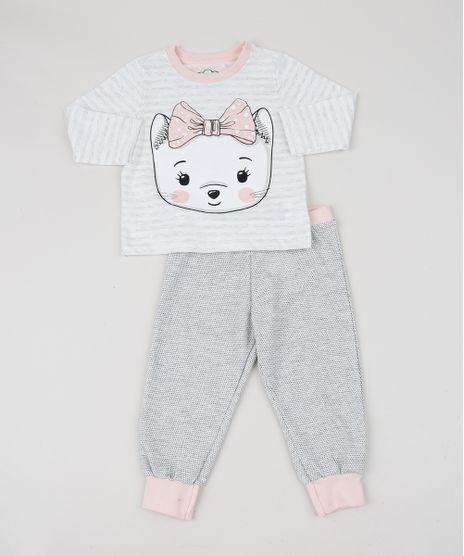 Pijama-Infantil-Dog-Manga-Longa-Cinza-9950736-Cinza_1
