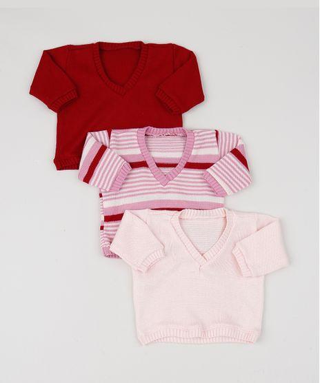 Kit-Presente-Pimpolho-de-3-Sueteres-Infantis-em-Trico-Multicor-9952189-Multicor_1