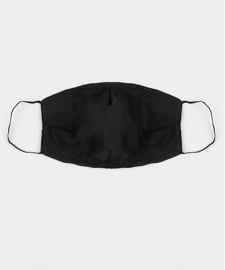 Mascara-de-Tecido-Reutilizavel-para-Protecao-Individual-Estampada-de-Poa-Preta-9952400-Preto_1