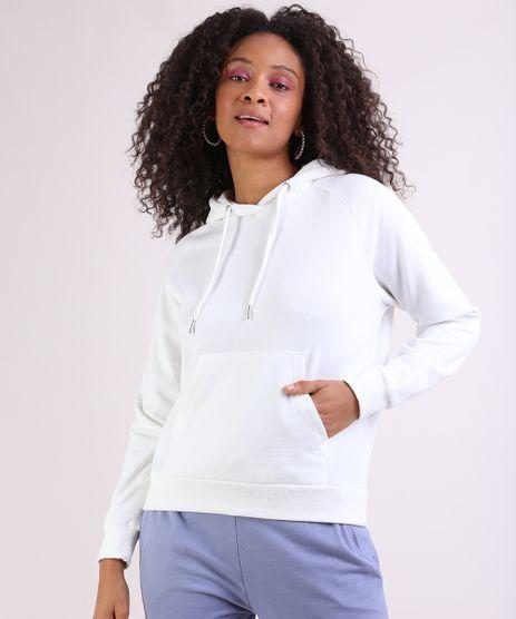 Blusao-Feminino-em-Moletom-Basico-com-Capuz-e-Bolso-Canguru-Off-White-9785595-Off_White_1