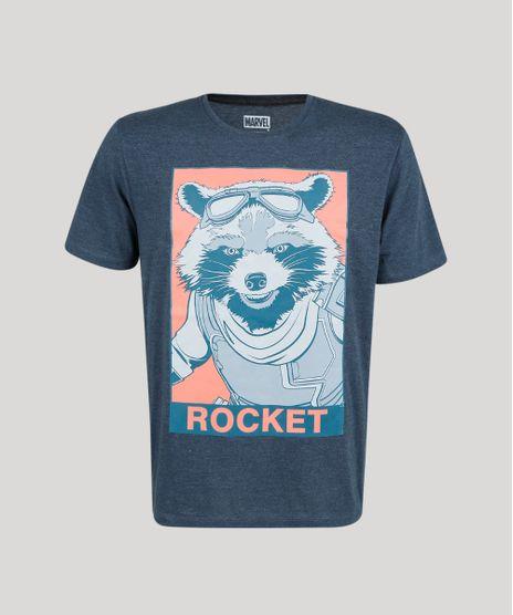 Camiseta-Masculino-Rocket-Guardioes-da-Galaxias-Manga-Curta-Azul-Marinho-9861287-Azul_Marinho_1