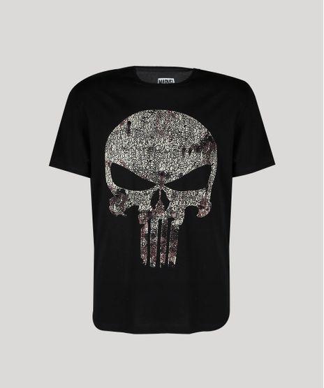 Camiseta-Masculina-O-Justiceiro-Manga-Curta-Gola-Careca-Preta-9738697-Preto_1