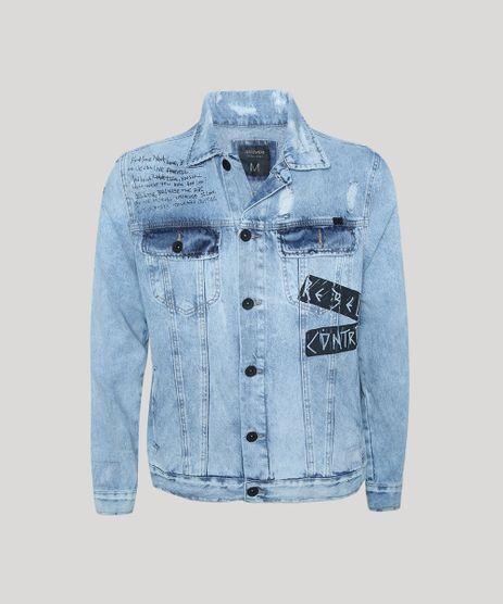 Jaqueta-Jeans-Masculina-Trucker-com-Puidos-Azul-Claro-9942852-Azul_Claro_1
