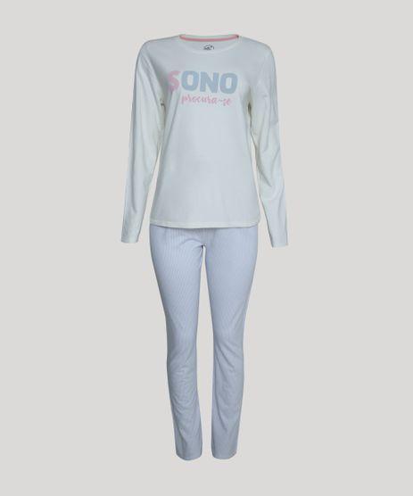 Pijama-de-Moletom-Feminino--Sono-Procura-se--Manga-Longa-Off-White-9951193-Off_White_1