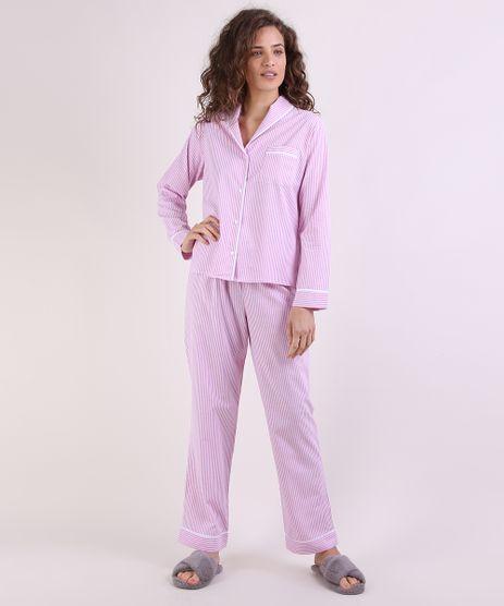 Pijama-Feminino-Listrado-Manga-Longa-Rosa-9952318-Rosa_1