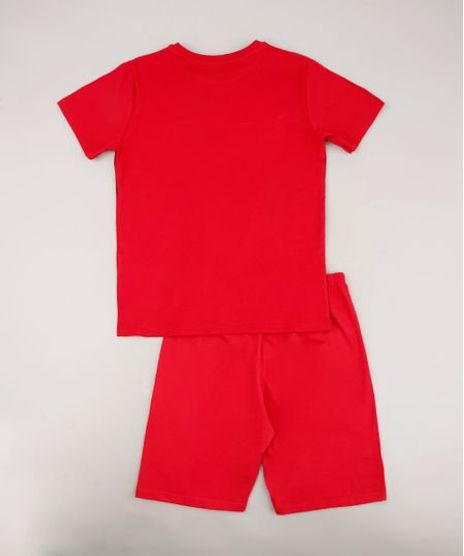 Pijama-Infantil-Homem-de-Ferro-Manga-Curta-Vermelho-Pijama-Infantil-Homem-de-Ferro-Manga-Curta-Vermelho_1