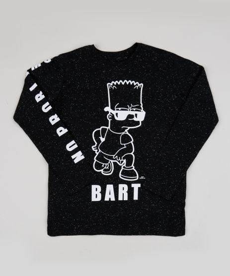 Camiseta-Juvenil-Bart-Os-Simpsons-Manga-Longa-Preta-9943395-Preto_1