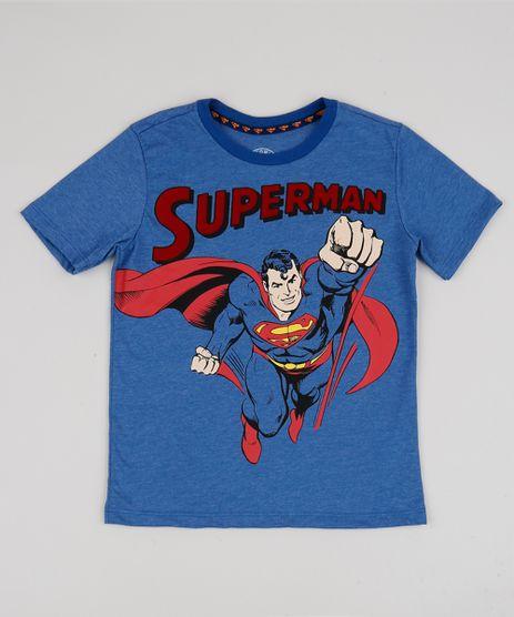 Camiseta-Infantil-Super-Homem-Manga-Curta-Azul-Mesclado-9943394-Azul_Mesclado_1