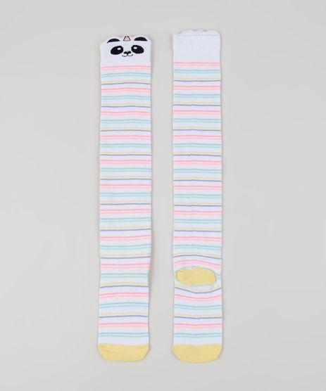 Meia-Infantil-5-8-Listrada-Panda-Branca-9954038-Branco_1