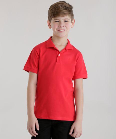 Polo-em-Piquet-Vermelha-8453961-Vermelho_1