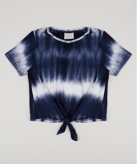 Blusa-Juvenil-Cropped-Estampada-Tie-Dye-com-No-Manga-Curta-Azul-Marinho-9956097-Azul_Marinho_1