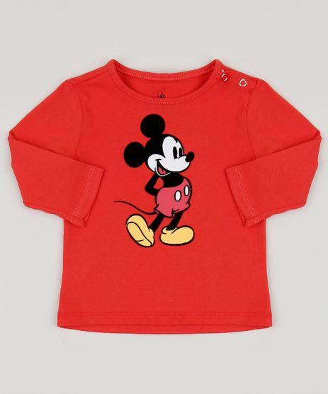 Camiseta-Infantil-Mickey-Manga-Longa-Vermelha-9951827-Vermelho_1