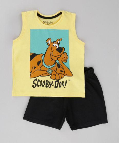 Conjunto-de-Regata-Amarela---Bermuda-Scooby-Doo-Preta-8612032-Preto_1