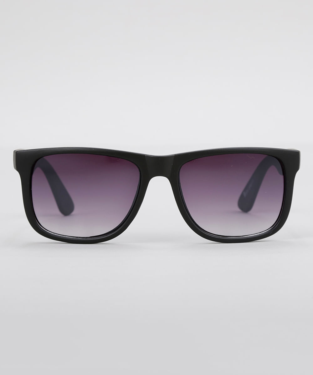 7b2a482354 Óculos de Sol Quadrado Masculino Oneself Preto - ceacollections
