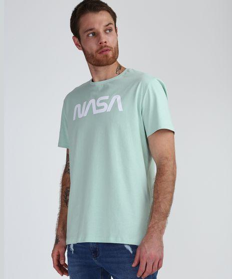 Camiseta-Masculina-NASA-Manga-Curta-Gola-Careca-Verde-9944588-Verde_1