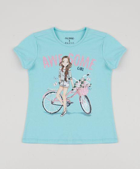 Blusa-Infantil-Menina-na-Bicicleta-Manga-Curta-Azul-Claro-9953035-Azul_Claro_1