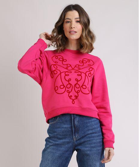 Blusao-Feminino-em-Moletom-Arabesco-Pink-9952522-Pink_1