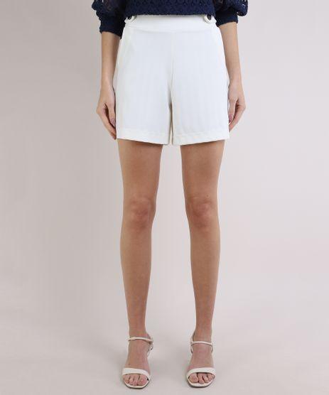 Short-Feminino-Basico-Cintura-Alta-com-Botoes-e-Bolsos-Off-White-9953176-Off_White_1