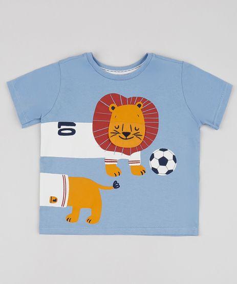 Camiseta-Infantil-Leaozinho-Manga-Curta-Azul-9954943-Azul_1