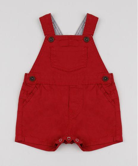 Jardineira-de-Sarja-Infantil-com-Bolso-Vermelha-9945180-Vermelho_1