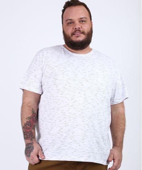 Camiseta-Masculina-Plus-Size-com-Bolso-Manga-Curta-Gola-Careca-Branca-9956873-Branco_1