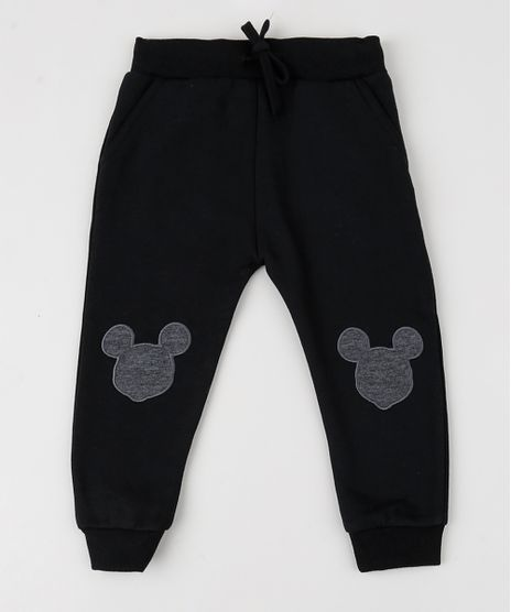 Calca-de-Moletom-Mickey-Mouse-Preta-9358021-Preto_1