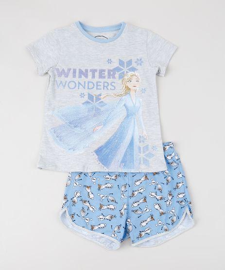 Pijama-Infantil-Frozen-Manga-Curta-Cinza-Mescla-9942761-Cinza_Mescla_1