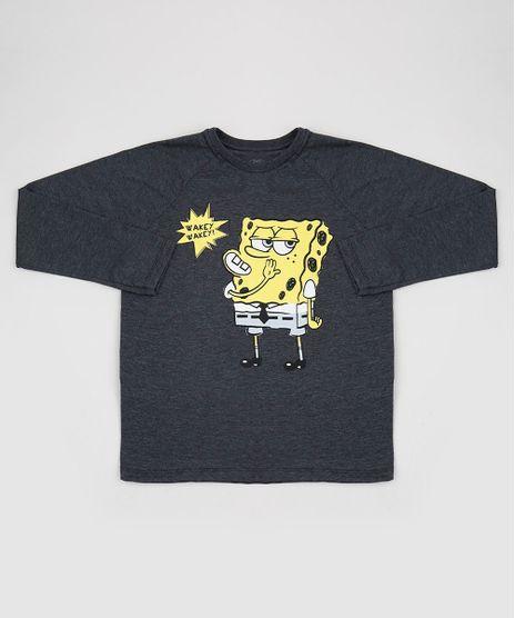 Camiseta-Juvenil-Bob-Esponja-Manga-Longa-Cinza-Mescla-Escuro-9955543-Cinza_Mescla_Escuro_1